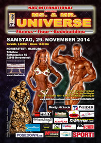 Universe 2014 in Hamburg
