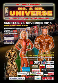 Universe 2015 in Hamburg